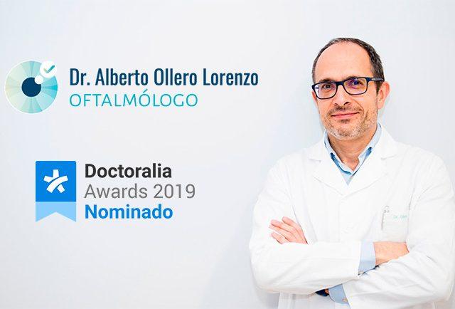 Nominado Oftalmología Doctoralia Awards 2019