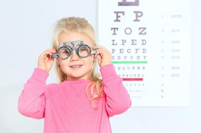 oftalmologo infantil