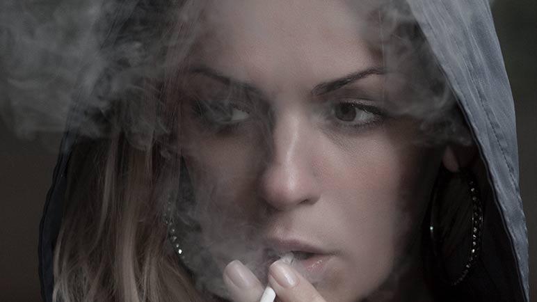 tabaco ojo seco