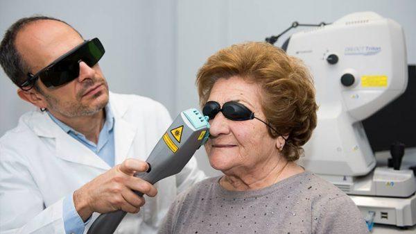 tratamiento ojo seco luz pulsada